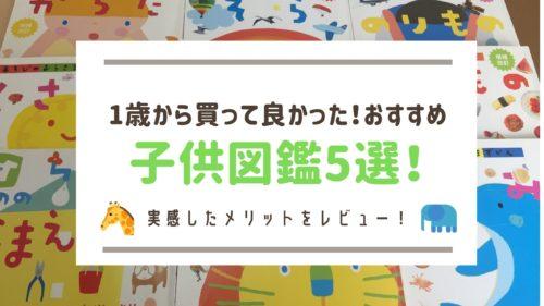 おすすめ子供図鑑5選